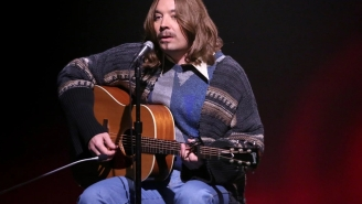 Jimmy Fallon Delivers A Spot-On James Taylor Impression On 'The Tonight Show'