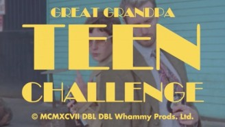 Premiere: Great Grandpa Get Meta In The Fun Video For 'Teen Challenge'