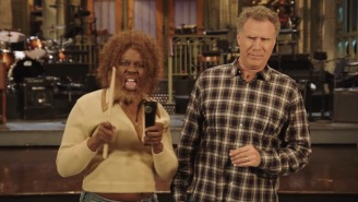 Leslie Jones Plays Will Ferrell's Greatest Hits In A New 'SNL' Promo