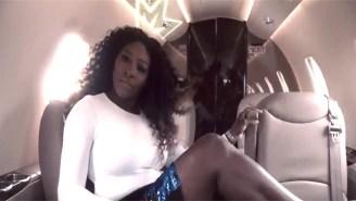 Serena Williams Simplifies Her Twerking From 'Lemonade' To 'Lemon'