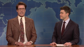 Will Ferrell's Classic 'Weekend Update' Character Jacob Silj Returns To 'SNL'