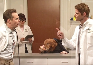 'SNL' Gives Us A Weird Masterpiece With This Silly Sketch About A Dog's Head On A Man's Body