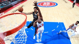 Nets Guard Spencer Dinwiddie Nailed A Tough Game-Winner To Sink The Pistons