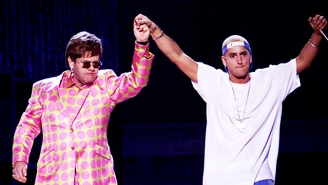 Did Eminem And Elton John's 2001 Grammys Performance Of 'Stan' Inadvertently Normalize Homophobia?
