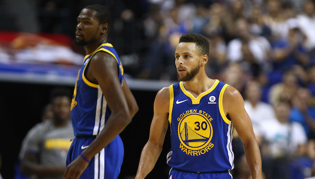 Charles Barkley Would Rather Play With Curry Than Durant Because KD Is 'Mad At The World'
