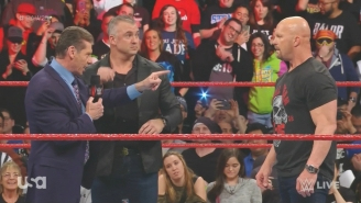 Stone Cold Steve Austin And Vince McMahon Had A Final Confrontation On Raw 25