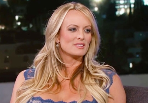 Stormy Daniels Casts Doubt On Her Trump 'Denial' During Her Wild Appearance On 'Jimmy Kimmel Live'