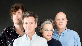 Superchunk's Upbeat Single 'Erasure' Features Stephin Merritt And Waxahatchee's Katie Crutchfield