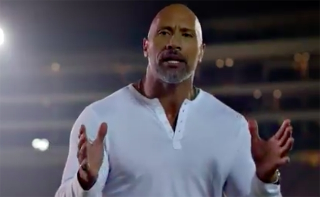The Rock Cut A Full On Wrestling Promo To Hype Patriots Vs
