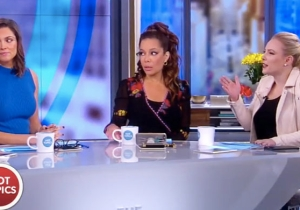 'The View' Gets Into A Heated Debate About Diagnosing Trump With Alzheimer's: 'We're Not Doctors'