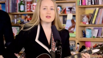 The Weather Station's Sleek Tiny Desk Concert Is Quiet Folk Brilliance