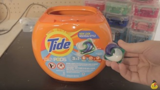 YouTube, Facebook, And This Robot Go To Extreme Lengths To End The 'Tide Pod Challenge'