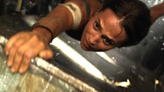 The New 'Tomb Raider' Trailer Shows Lara Croft Is A Survivor