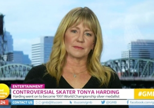Tonya Harding Goes Head-To-Head With Piers Morgan In A Heated 'Good Morning Britain' Interview