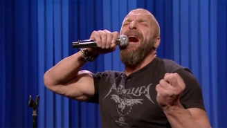 The New Day, Triple H, And Stephanie McMahon Have A WWE-Themed Lip Sync Battle On 'The Tonight Show'