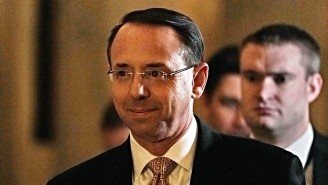 Trump Reportedly Asked Deputy Attorney General Rod Rosenstein If He Was 'On My Team'