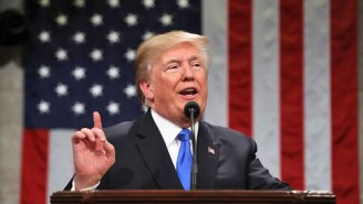 President Trump Promises To Extend An 'Open Hand' To Democrats During His First State Of The Union Speech