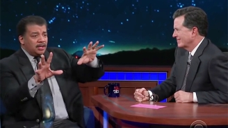 Neil DeGrasse Tyson Blows Stephen Colbert's Mind With Some Of The Thoughts That Keep Him Up At Night