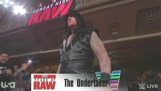 Watch The Undertaker Make His Return At WWE Raw 25