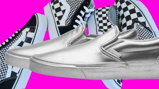 Vans Is Getting Fancy With New Silver And Checkerboard Kicks