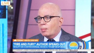 Michael Wolff Stands By Everything In His Trump White House Tell-All Book: 'I Have Recordings'