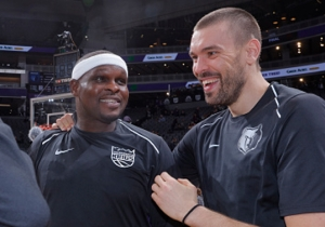Zach Randolph Was Welcomed Back To Memphis With A Thunderous Ovation