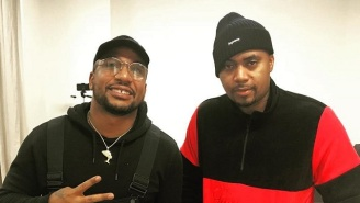 Cyhi The Prince Met 'The God' Nas While He Was In Miami With Kanye