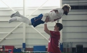 Eli Manning And Odell Beckham Made Their Own 'Dirty Dancing' In A Super Bowl Commercial