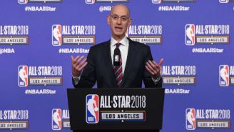 Adam Silver Says He's 'Incredibly Proud' Of LeBron And Kevin Durant For Their 'Shut Up And Dribble' Responses