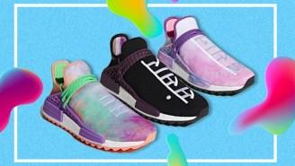 Pharrell's New Adidas Celebrate The Hindu Holi Festival With Three Colorway Options