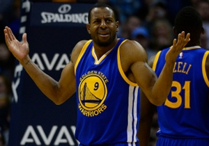 The Warriors Ruled Andre Iguodala Out For Game 1 Of The NBA Finals