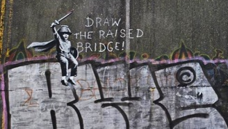 Banksy Was Spotted In The Flesh For The First Time In Almost 20 Years
