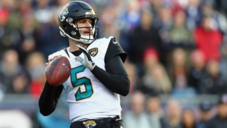 The Jags Will Keep Blake Bortles In Jacksonville On A Three-Year Deal Worth Up To $66.5 Million