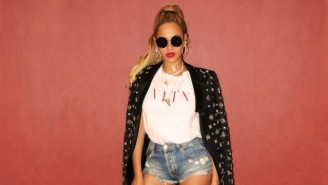 Beyonce Is Working On A New 'Lion King' Song With Elton John