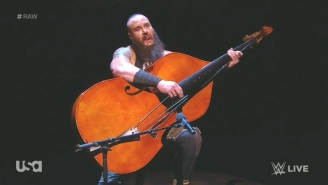 Watch Braun Strowman Make His Violent Musical Debut On WWE Raw