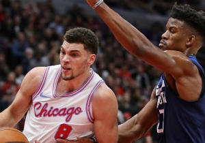 Zach LaVine Defended Karl-Anthony Towns And Andrew Wiggins Against Jimmy Butler's Criticism