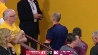 An Arizona Cheerleader Got Ejected For Heckling A Referee