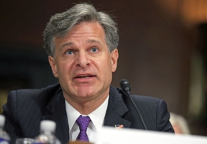Report: FBI Director Wray Is 'Raising Hell' While The White House Fears He'll Resign Over Devin' Nunes Memo