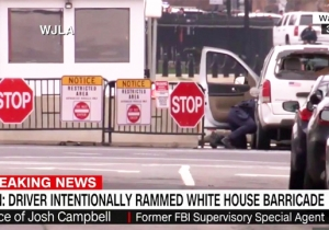The White House Briefly Went On Lockdown After A Vehicle 'Intentionally' Rammed A Security Barricade