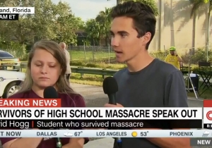 A Florida School Shooting Survivor Calls Out Lawmakers: 'Ideas Are Great' But We Need Action