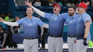 The U.S Men's Curling Team Walks Away With The Gold Medal At The Winter Olympics, And People Are Freaking