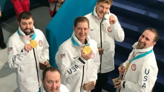 The US Men's Olympic Curling Team Was Given The Wrong Gold Medals