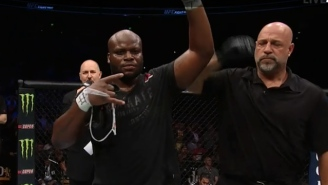 Derrick Lewis Brawls His Way To Another Big KO Win At UFC Fight Night: Austin