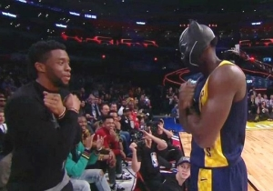 Victor Oladipo Broke Out A Black Panther-Inspired Dunk With Help From Chadwick Boseman