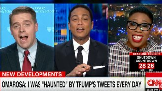 Don Lemon Could Not Stop Laughing After Omarosa Became The Topic Of Discussion