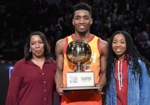 Donovan Mitchell Won't Defend His Dunk Contest Title At All-Star Weekend