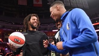 Dennis Smith Jr. Allegedly Had A Final Round Dunk Planned With J. Cole