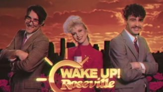 Paramore Transform Into Morning News Anchors In Their Video For 'Rose-Colored' Boy