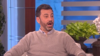 Ellen DeGeneres Surprised An Emotional Jimmy Kimmel With A Special Dedication To His Son