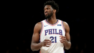 Joel Embiid Couldn't Get Enough Of Lonzo Ball's 'Fire' Album